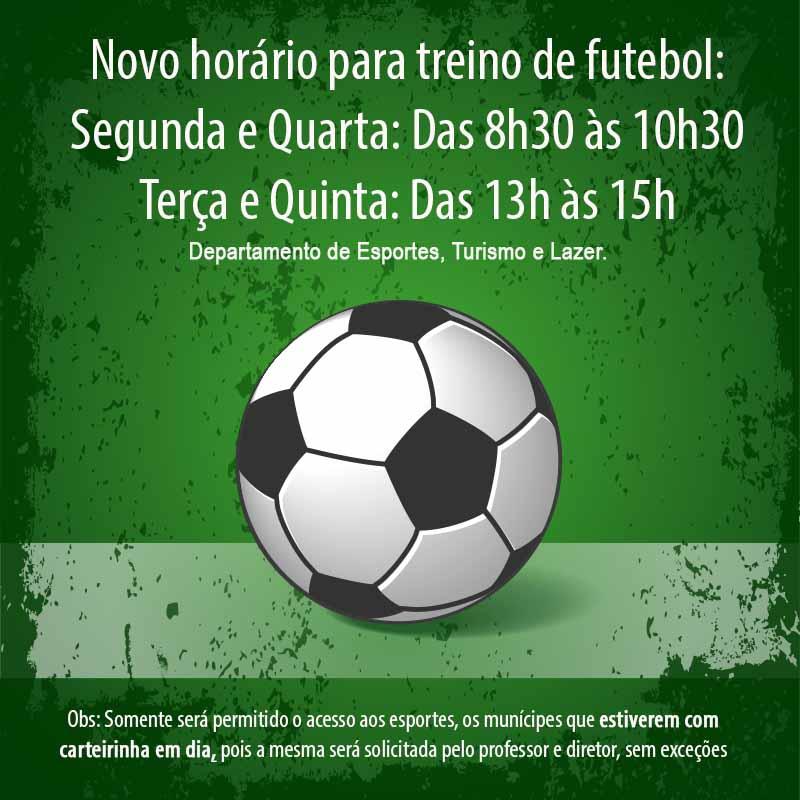 FUTEBOL JA ARRUMADO COM Departamento de Esportes, Turismo e Lazer. (1)