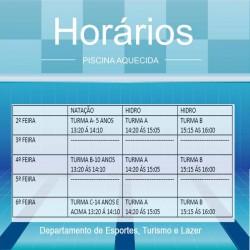 piscina aquedica com frase Departamento de Esportes, Turismo e Lazer (1)